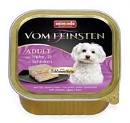 """Animonda - Консервы для собак """"Меню для гурманов"""" (с курицей, яйцом и ветчиной) Vom Feinsten Adult"""