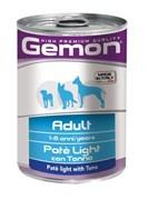 Gemon Dog - Облегченный паштет для собак (с тунцом) Light