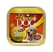 Special Dog - Консервы для щенков (паштет с курицей и рисом)