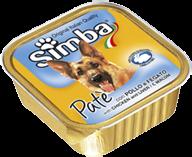 Simba Dog - Консервы для собак (паштет с курицей и печенью)