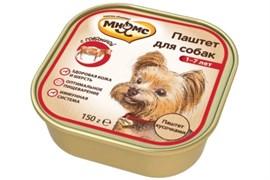Мнямс - Консервы для взрослых собак (говядина)