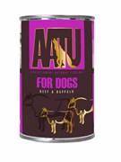 AATU - Консервы для собак (с говядиной и мясом буйвола) BEEF & BUFFALO