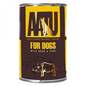 AATU - Консервы для собак (с мясом дикого кабана и свининой) WILD BOAR & PORK
