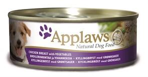 Applaws - Консервы для собак (с курицей, овощами и рисом) Dog Chicken, Vegetables and Rice