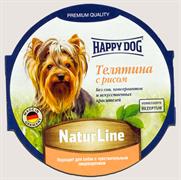 Happy Dog - Паштет для собак (с телятиной и рисом)