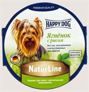 Happy Dog - Паштет для собак (с ягненком и рисом)