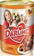 Purina Darling - Влажный корм для собак (с курицей и индейкой)