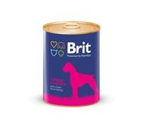 Brit - Консервы для собак (с сердцем и печенью) Premium HEART&LIVER