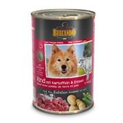 Belcando - Консервы для собак (Говядина с картофелем и горохом)