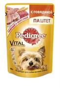 Pedigree - Паучи для собак мелких пород (Паштет из говядины)