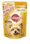 Pedigree - Паучи для собак мелких пород (Паштет из курицы)