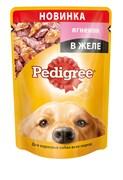 Pedigree - Паучи для собак (с ягненком в желе)