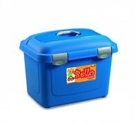 Stefanplast - Контейнер для хранения корма, 45х33х33см, 26л (синий) Bello Multiporpose Case Blue