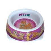 "Dezzie - Миска для собак ""Азарт"", 150 мл, 12,5*4,5 см, пластик"