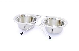 Benelux - Миски для собак стальные 2шт/16 см