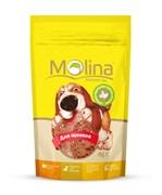 """Molina - Лакомство для щенков """"Куриные медальоны с сыром и печенью"""""""