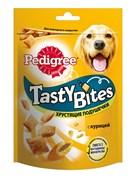 "Pedigree - Лакомство для собак (Хрустящие подушечки с курицей) ""Tasty Bites"""