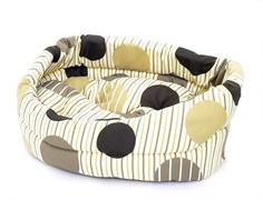 Benelux - Лежак для собак с подушкой 60*56*15 см Dogbasket size 5