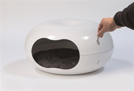 "Moderna - Домик-лежак ""пончик"" с мягкой подушкой, 49х46х26см"