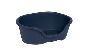 Moderna - Лежак domus пластиковый 95 см, 110х74х30,  королевский синий