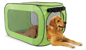 Kitty City - Переносной домик для собак крупных пород Portable Dog Kennel Large, 91*55*55 см