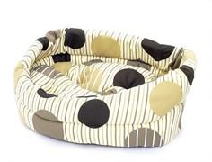 Benelux - Лежак для собак с подушкой 54*48*15 см Dogbasket size 4