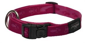 Rogz - Ошейник, розовый (размер M (26-40 см), ширина 1,6 см) ALPINIST SIDE RELEASE COLLAR