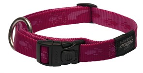 Rogz - Ошейник, розовый (размер XL (43-70 см), ширина 2,5 см) ALPINIST SIDE RELEASE COLLAR