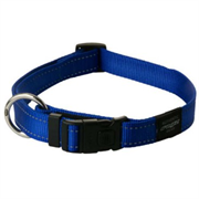 Rogz - Ошейник, синий (размер L (34-56 см), ширина 2 см) UTILITY SIDE RELEASE COLLAR