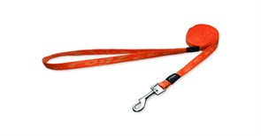 Rogz - Поводок, оранжевый (размер L - ширина 2 см, длина 1,4 м) ALPINIST FIXED LEAD