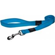 Rogz - Поводок, голубой (размер M - ширина 1,6 см, длина 1,4 м) UTILITY FIXED LEAD