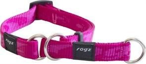 Rogz - Полуудавка строгая, розовый (размер XL (50-70 см), ширина 2,5 см) ALPINIST WEB HALF CHECK COLLAR