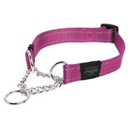 Rogz - Полуудавка строгая, розовый (размер М (32-44 см), ширина 1,6 см) UTILITY OBEDIENCE HALF CHECK COLLAR