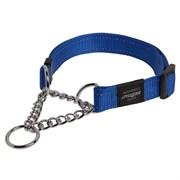 Rogz - Полуудавка строгая, синий (размер М (32-44 см), ширина 1,6 см) UTILITY OBEDIENCE HALF CHECK COLLAR