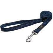 Rogz - Удлиненный поводок, темно-синий (размер M - ширина 1,6 см, длина 1,8 м) ALPINIST FIXED LONG LEAD