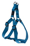 Rogz - Шлейка разъемная, голубой (размер M (42-61 см), ширина 1,6 см) UTILITY STEP IN HARNESS