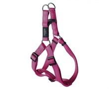 Rogz - Шлейка разъемная, розовый (размер S (27-38 см), ширина 1,1 см) UTILITY STEP IN HARNESS