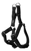 Rogz - Шлейка разъемная, черный (размер S (27-38 см), ширина 1,1 см) UTILITY STEP IN HARNESS