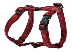 Rogz - Шлейка, красный (размер XL (60-100 см), ширина 2,5 см) ALPINIST H-HARNESS