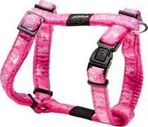 "Rogz - Шлейка ""Розовая лапка"" (размер L (45-75 см), ширина 2 см) FANCY DRESS H-HARNESS"