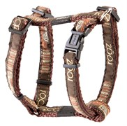 """Rogz - Шлейка """"Кофейные косточки"""" (размер XL (60-100 см), ширина 2,5 см) FANCY DRESS H-HARNESS"""