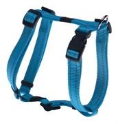 Rogz - Шлейка, голубой (размер M (32-52 см), ширина 1,6 см) UTILITY H-HARNESS