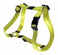Rogz - Шлейка, желтый (размер S (23-37 см), ширина 1,1 см) UTILITY H-HARNESS