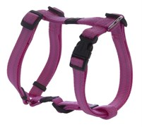 Rogz - Шлейка, розовый (размер S (23-37 см), ширина 1,1 см) UTILITY H-HARNESS