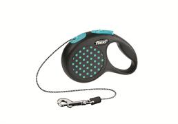Flexi - Рулетка-трос для собак, размер XS - 3 м до 8 кг (голубая) Design Cord blue
