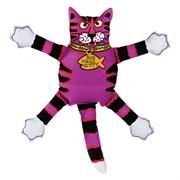"Kitty City - Игрушка ""Кот-забияка"" мини FATCAT Mini Terrible Nasty Scaries, фиолетовый"