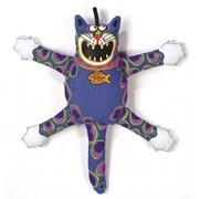 "Kitty City - Игрушка ""Кот-забияка"" мини FATCAT Mini Terrible Nasty Scaries, синий"