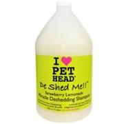 """Pet Head - Шампунь для линяющих собак """"Чудо-линька"""" (клубнично-лимонадный), без сульфатов и парабенов"""