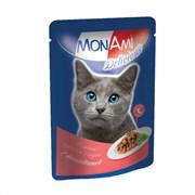 MonAmi - Паучи для кошек (с телятиной)