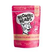 "Barking Heads - Паучи для кошек и котят ""Фиш-гурман"" (с лососем, курицей и говядиной) So-Fish-Ticated Salmon"